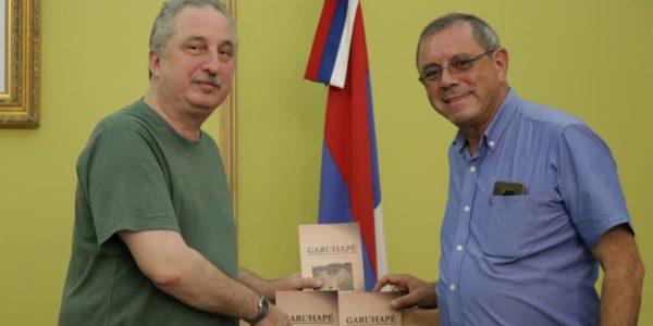 El Intendente de Garuhapé fue recibido por el Gobernador