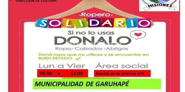 Colecta Solidaria.