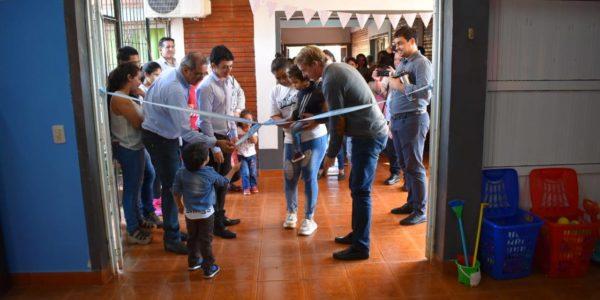 Inauguración del Espacio de Primera Infancia en San Miguel.